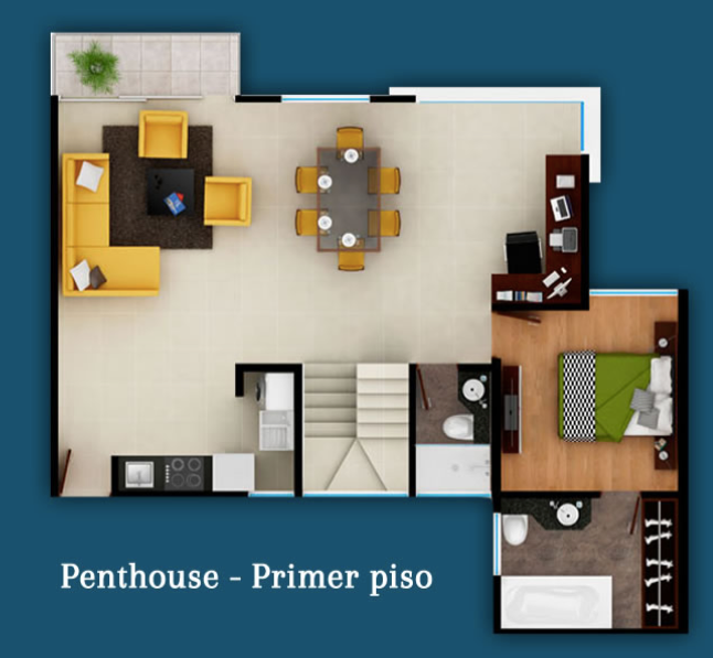 PentHouse Primer piso